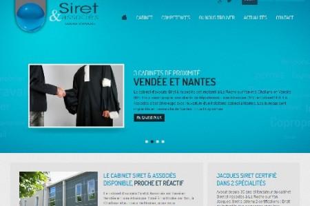 Net entreprise et communication web d'un site de cabinet d'avocats