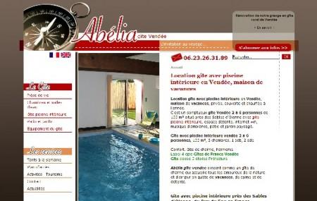 Références net entreprise et communication web pour un gîte en Vendée