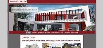Site internet pour ravalement de façade en Vendée, isolation par l'extérieur
