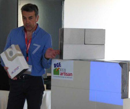 Conférence BNI Luçon dynamic Atlantic Décor RGE Eco Artisan avec Vetisol
