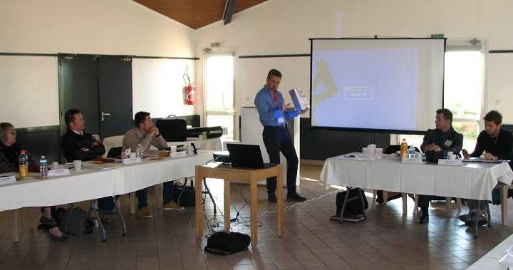 Conférence BNI Luçon dynamic de Stéphane chiffoleau Atlantic Décor