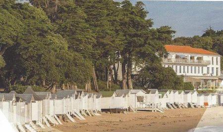 La plage des Dames à Le Bois de la Chaise à Noirmoutier Vendée